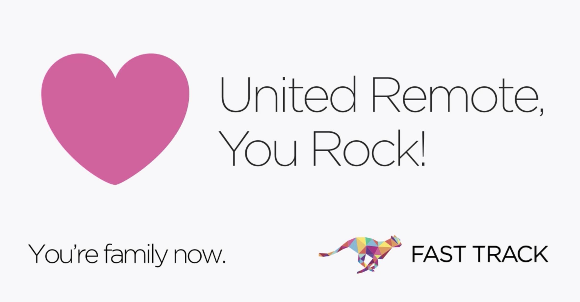 FAST TRACK Unite Remote Partnership